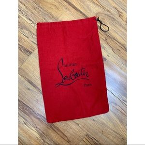 Christian Louboutin Red Dust Bag